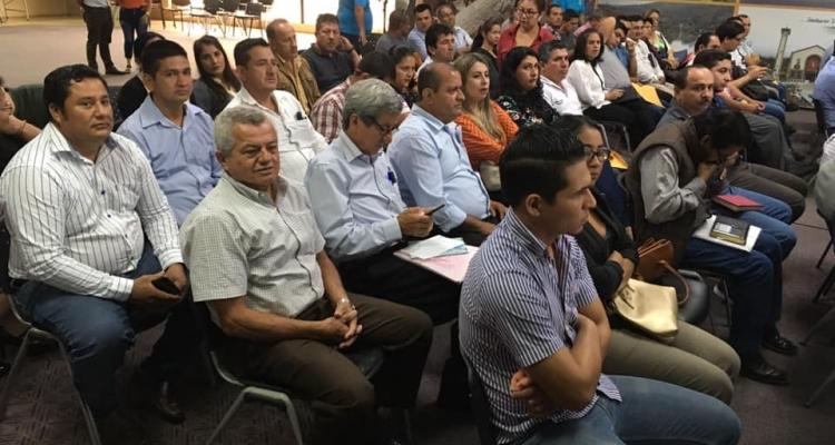 REUNIÓN DE TRABAJO CON LOS PRESIDENTES DE LOS 50 GADPR DE EL ORO.