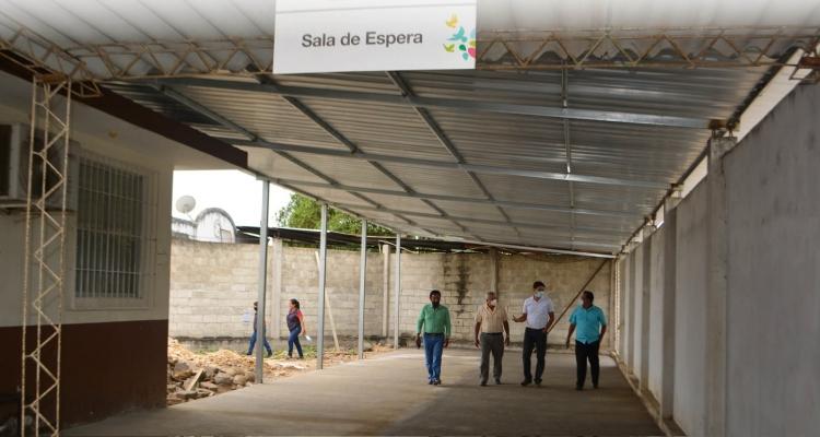 ENTREGA DE OBRA DE LOS EXTERIORES DEL CENTRO DE SALUD